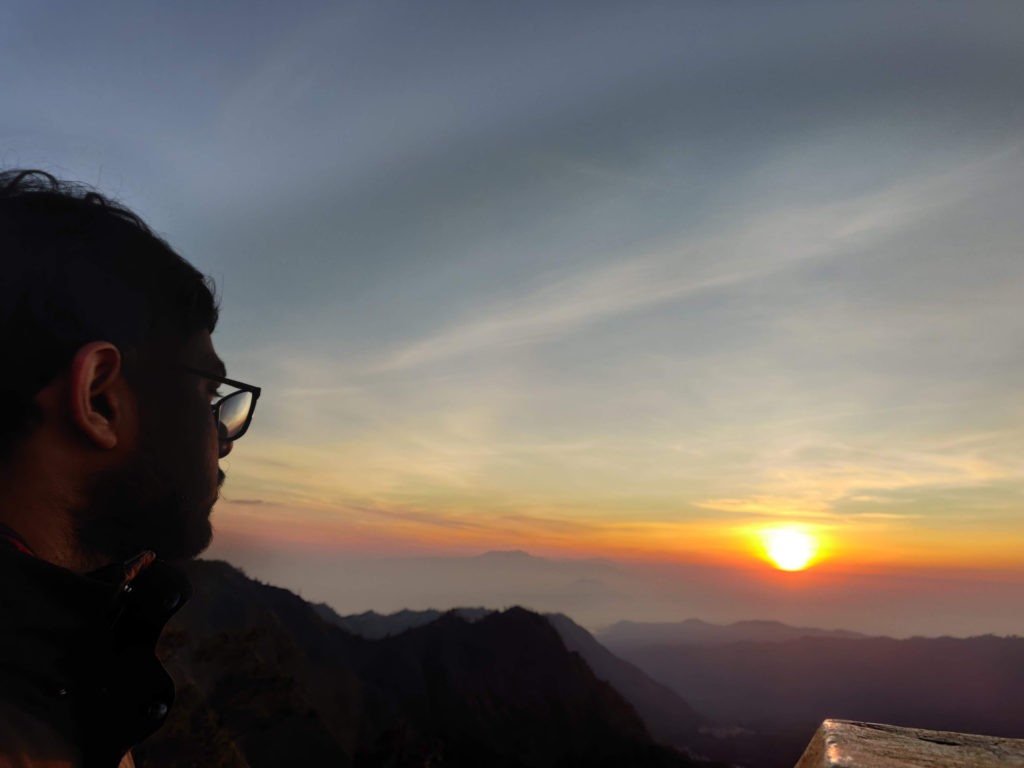 penanjakan sunrise view point