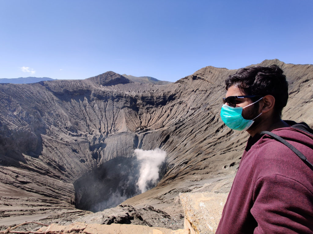 crater bromo