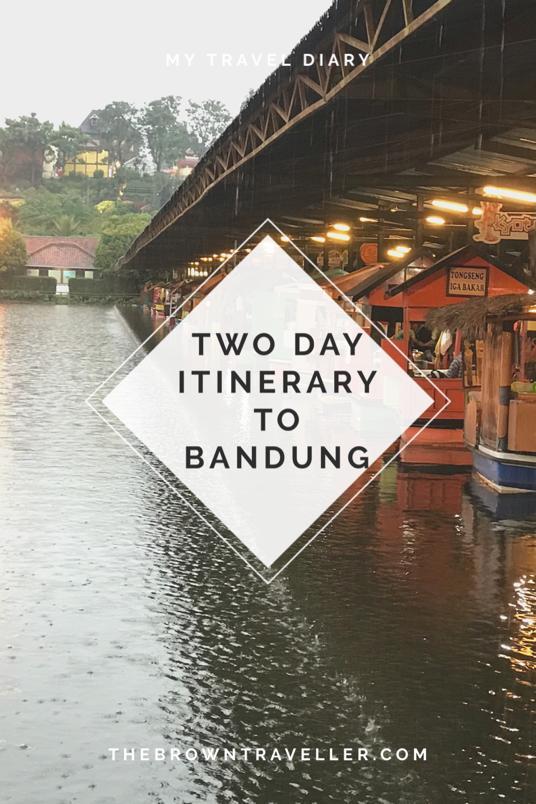 Bandung Itinerary