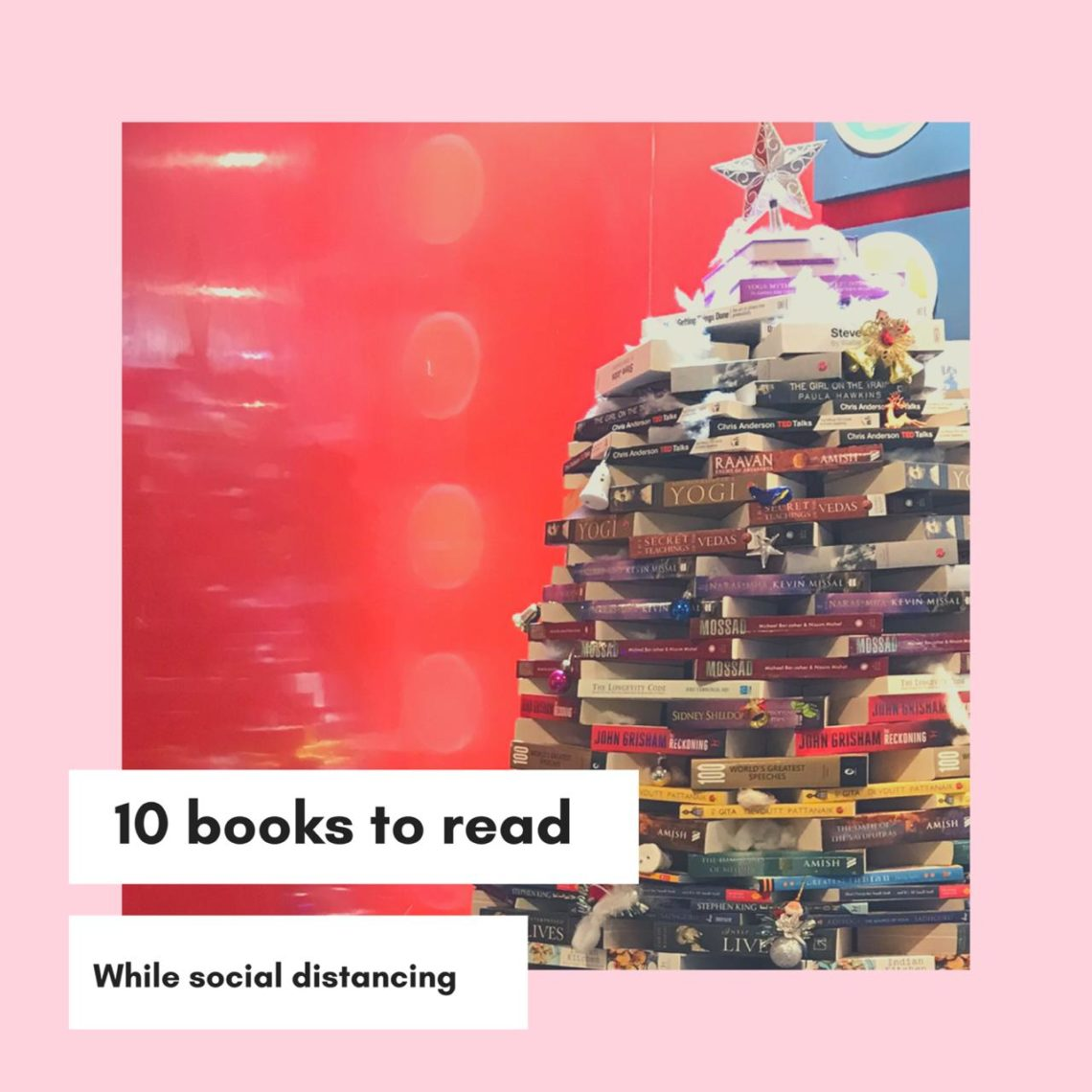 books social distancing
