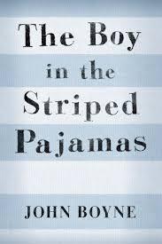 boy in striped pajams